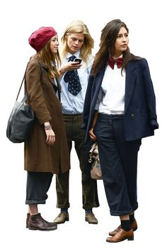 cutout group of women
