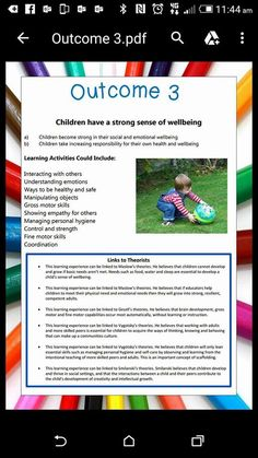 Eyfs Activities, Preschool Activities, Eylf Learning Outcomes, Learning Stories Examples, Understanding Emotions, Emergent Curriculum, Teacher Workshops, Special Educational Needs, Education Information