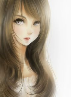 anime girl red hair brown eyes - Google Search
