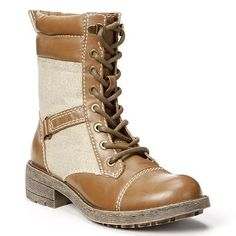 Unleashed by Rocket Dog Tower Combat Boots - Women