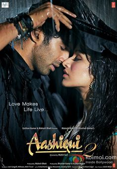 One of the best bollywood romantic movie. All indians just love this movie. Amazing songs and a great story line. Aditya Roy Kapur and Shraddha Kapoor starrer Aashiqui 2 Movie. it was gud Best Bollywood Movies, Bollywood Songs, Bollywood Celebrities, Hindi Movie Song, Movie Songs, Movie Tv, Epic Movie, 2012 Movie, Audio Songs