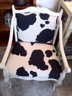 I love cow print!