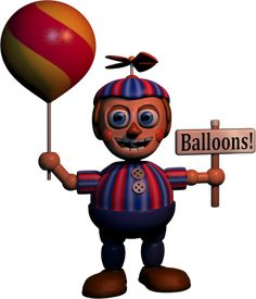 Five Nights At Freddy's 2 Balloon Boy