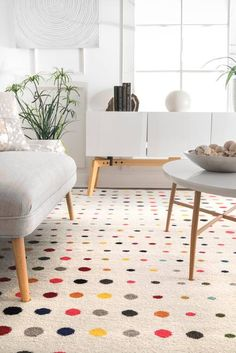 Rugs USA - Area Rugs in many styles including Contemporary, Braided, Outdoor and Flokati Shag rugs.Buy Rugs At America's Home Decorating SuperstoreArea Rugs Polka Dot Rug, Polka Dots, Contemporary Rugs, Modern Rugs, Laminate Furniture, Rectangular Rugs, Rugs Usa, Buy Rugs, Room Rugs