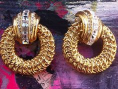 Vintage Clip Ons on Etsy, $10.00