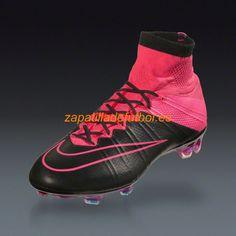 competitive price 5eec0 4a137 El mas nuevo Zapatillas de Futbol Nike Mercurial Superfly FG Negro Hiper  Rosa Laguna Azul Tech Craft. neymar da silva · Soccer Cleats