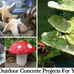 28 Cutest Outdoor Concrete Projects For Your Home