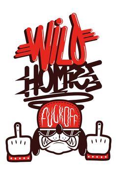 WILD HOMIES ! on Behance