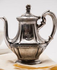 vintage Hotel Stevens, Chicago teapot