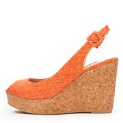 Back Strap Cork Wedge Sandals /CS3420/RANDA