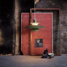 PH 5 Contemporary pendant by Louis Poulsen.