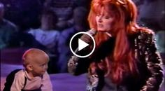 At just under two-years old, Wynonna's baby boy gets some time in the spotlight while his momma sings this beautiful melody.
