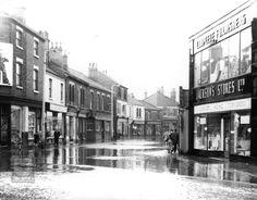 castleford 1960s Shop Till You Drop, West Yorkshire, Leeds, 1960s, Nostalgia, Castle, Sad, England, Street View
