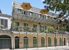 For sale: $699,000. Wonderful 2 story loft with huge Balcony overlooking the French Quarter and Mississippi river!  Open floor plan with French doors opening onto the balcony, wood floors, exposed brick,  master bedroom suite w private rear balcony overlooking French Quarter rooftop. Fabulous common courtyard with fountain. Outstanding location within the Quarter.  This condo has it all!