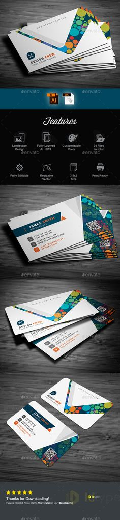 Buy Business Card by IDtype on GraphicRiver. Business Card This is a Business Card Template is for designers on Web designer, Personal use and agency based people. Buy Business Cards, Vintage Business Cards, Artist Business Cards, Simple Business Cards, Professional Business Cards, Business Card Design, Creative Business, Marketing, Card Templates