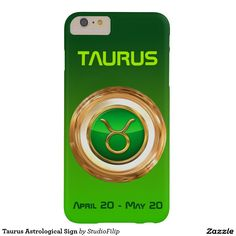 Taurus Astrological Sign Barely There iPhone 6 Plus Case | 15% OFF anything | Enter coupon code ALLOVERSTYLE during checkout |. Good through April 6, 2016 11:59PM PT