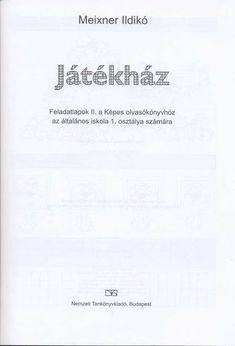 Albumarchívum - Játékház feladatlapok II. Album, Math, Archive, Mathematics, Math Resources, Card Book