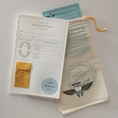 Urbanic Paper Boutique — The Official Tooth Fairy Kit
