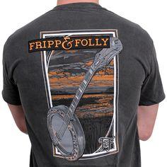 Banjo Tee in Pepper Grey by Fripp & Folly