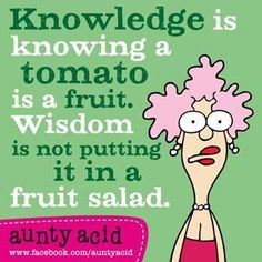 Aunty Acid Jokes | Posted by Collin On March - 5 - 2013