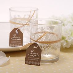 Favour Perfect Has Unique Affordable Range Of Wedding Favours Oniere Including Rustic Gl Tealight Holder With Flat Rate Delivery Australia Wide
