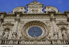Basilica Santa Croce, Lecce, Italy - This is a Baroque church in the city of Lecce. Its architecture and interior are magnificent and a true piece of art that you should not miss if you are visiting Puglia region.