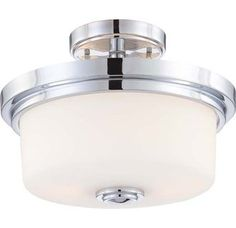 View the Nuvo Lighting 60/4593 Soho 2 Light Semi-Flush Indoor Ceiling Fixture - 13 Inches Wide at Build.com.