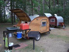 Big Woody Teardrop Trailers. Made in Elk Mound, WISCONSIN! :)