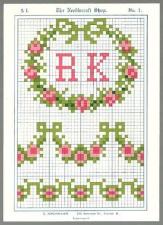 Free vintage cross stitch patterns!