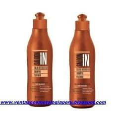 Shampoo saloon in profesional sin sal tratamiento acondincionador envios peru cabello keratina