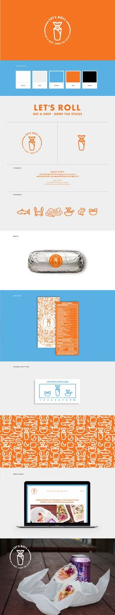 Let's Roll Pdx Brand Identity by Dynamo Ultima