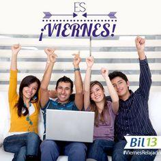 ¡Por fin es VIERNES! A disfrutar de un ¡Feliz fin de Semana!  #SaludyBienestarBagó #Bil13 #ViernesRelajado