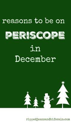 December Periscope Challenge