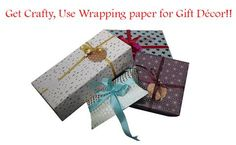 During the holiday season, everyone always looks forward to wrapping gifts. This is because the wrapping paper is getting more versatile with the passage of time. There are so many things you can create with these awesome wrapping elements like creating ornaments, gift tags and other home décor elements.