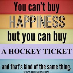 Hockey is Happiness