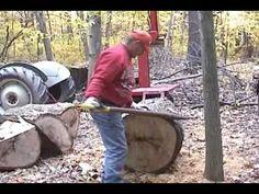 MD Tomahawk Log Splitter (One of a kind) - YouTube