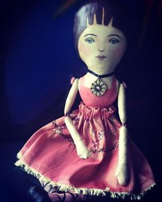 Janice. Once, she thought she could have been a fortune teller, but she did not want to dwell in the shadows. Instead, a delicate fusion of intuition and compassion, she weaves together the tattered remnants of the stories she hears. The storytellers art ... Seeking out that which illuminates individual truth and strikes clearly and cleanly to the soul. #artdoll #clothdoll #vintagestyledoll #doll