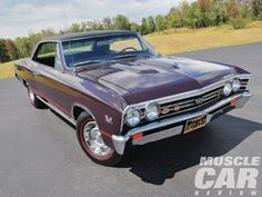 1967 Chevelle SS396 - Pure Super Sport - Muscle Car