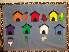 What is Bridget Reading?: Flannel Friday: Clifford, Clifford, Where's Your Bone? Flannel Board Stories, Felt Board Stories, Felt Stories, Flannel Boards, Preschool Colors, Preschool Activities, Library Activities, Preschool Learning, Toddler Storytime