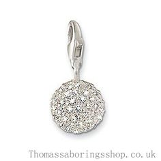 http://www.thomassaboringstore.co.uk/enchanting-thomas-sabo-silver-ball-crystal-charm-in-discount.html Discount Thomas Sabo Silver Ball Crystal Charm Worldsale