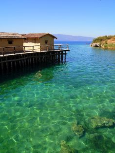 Lake Ohrid, Macedonia...Sweet Mercy, this is gorgeous.