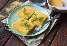 Egyszerű polenta Polenta, Thai Red Curry, Cantaloupe, Fruit, Ethnic Recipes, Food, Eten, Meals, Diet