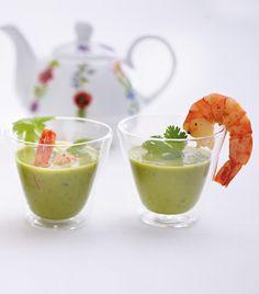 Unser beliebtes Rezept für Erbsen-Koriander-Hot-Shots und mehr als 55.000 weitere kostenlose Rezepte auf LECKER.de.