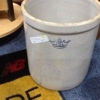 Antique 5 gallon Crock for sale www.postyourpiece.com