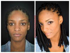 maquillaje natural piel morena