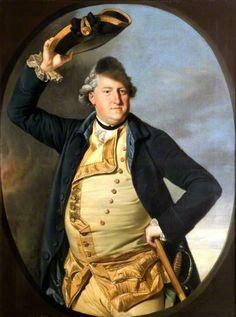 George Nassau Clavering-Cowper (1738–1789), 3rd Earl Cowper, 1800-1830 (after) Johann Zoffany (German 1733–1810)