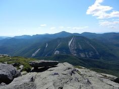 Off on Adventure: Mount Colden from the summit of Algonquin in New York's Adirondack High Peaks.