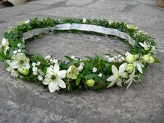 FIRST COMMUNION HEAD WREATH