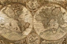 Cross Stitch Pattern Antique World Map, Instant Download(Etsy のWildStitchDesignsより) https://www.etsy.com/jp/listing/207254773/cross-stitch-pattern-antique-world-map
