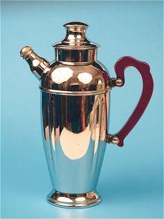 Vintage Art Deco Crome Martini Shaker with by BornToBeWildStudios, $59.99